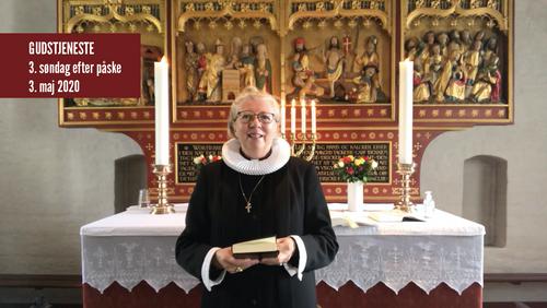 Gudstjeneste fra Tibirke kirke Søndag d. 3. maj 2020