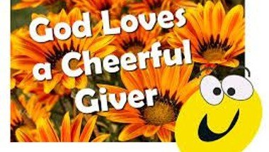 Rev Trev asks if we can be cheerful givers. Please watch this short film.
