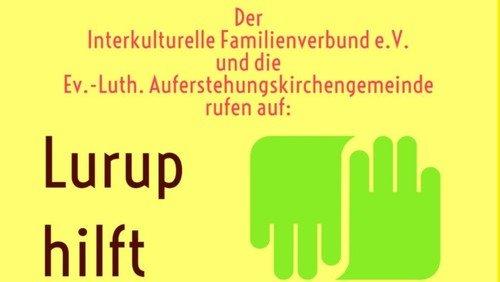 Lurup hilft - Spendenaufruf