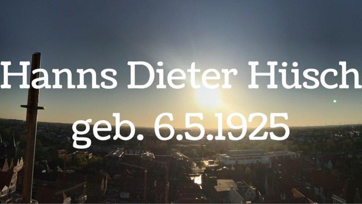 Hanns Dieter Hüsch hat 95. Geburtstag