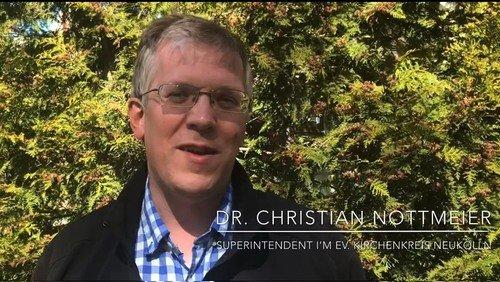 """HOFFNUNG TUT DER SEELE GUT"" – Videobotschaft von Superintendent Dr. Christian Nottmeier"