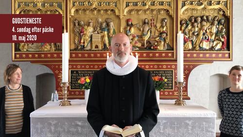 Gudstjeneste fra Tibirke kirke søndag d. 10. maj 2020