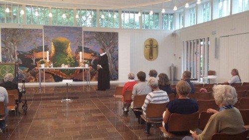 Refleksion over evangeliet til Mariæ bebudelses dag ved sognepræst Peter Møller Jensen.
