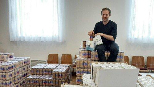 Dank Spende: Lebensmittel für Bedürftige
