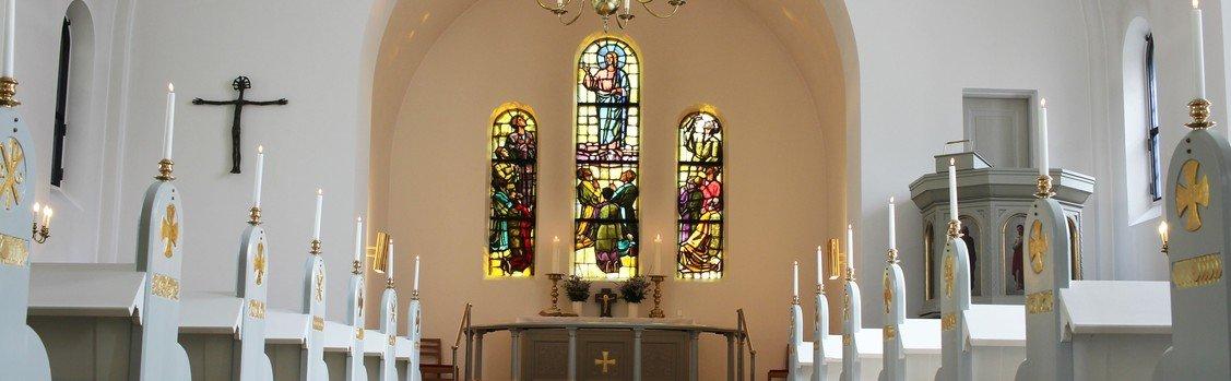 Information om genåbning af Vedbæk Kirke
