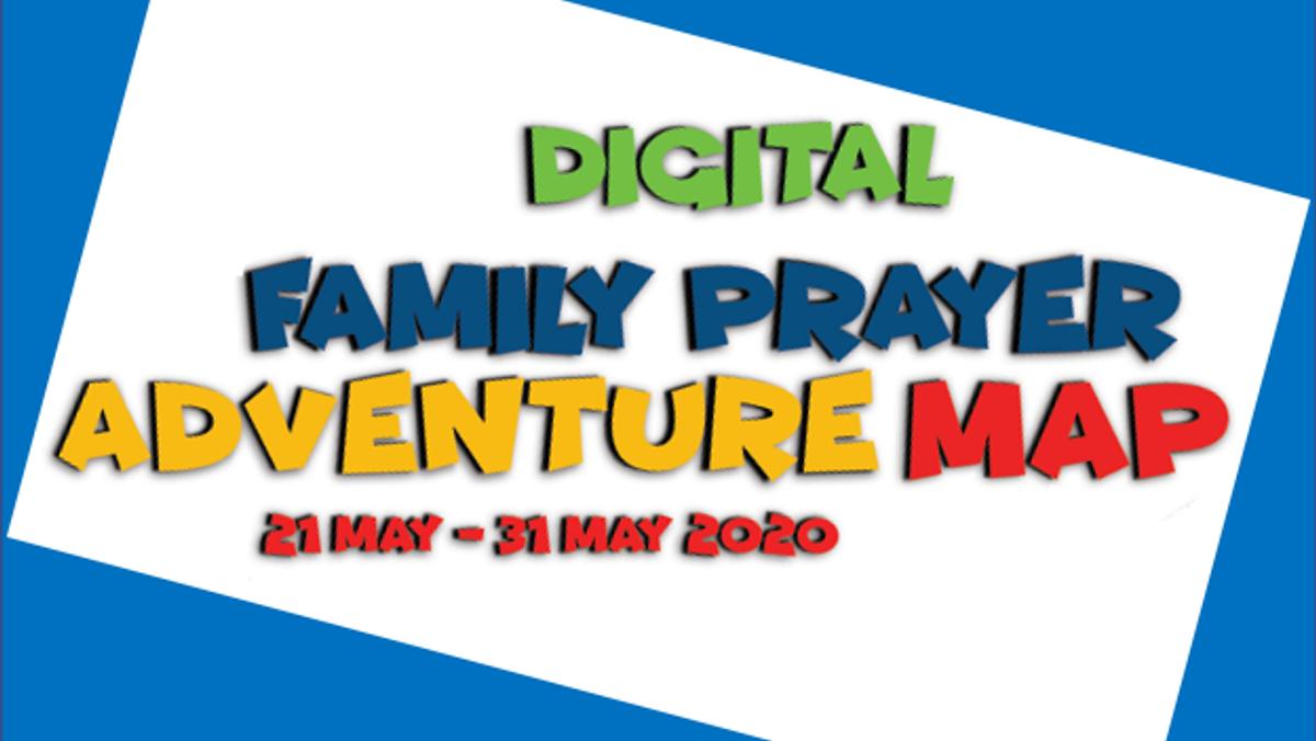 Digital Prayer Adventure Map for Thy Kingdom Come 2020