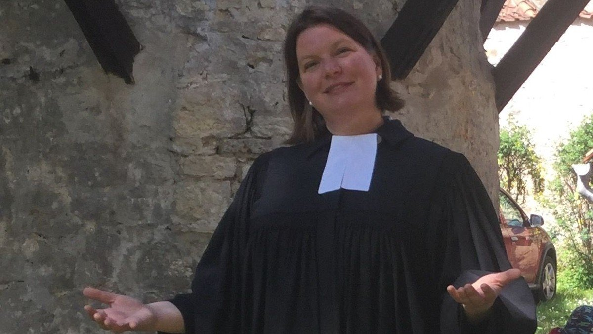Johanna Bernstengel als neue Pfarrerin in Gatersleben begrüßt