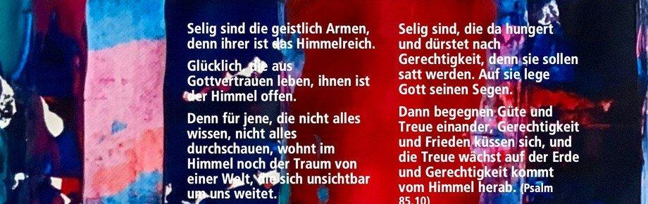 Psalmenblatt Mai   Pastorin Isabel Klaus