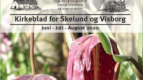 Kirkeblad Skelund-Visborg juni-august 2020