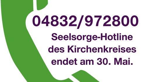 Kirchenkreis lässt Seelsorge-Hotline vorerst ruhen