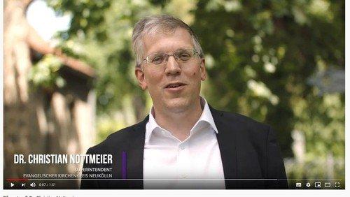 """""""EIN GEIST, DER FROH MACHT"""" – Videobotschaft von Superintendent Dr. Christian Nottmeier zu Pfingsten"""