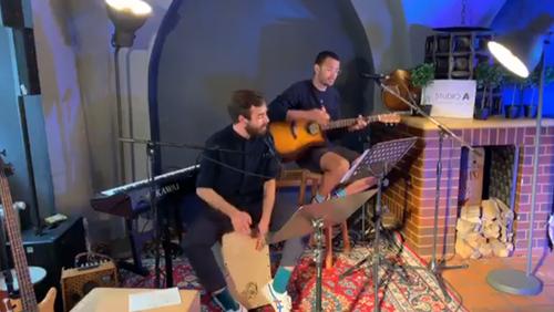 Felix und Adrian bei Studio A