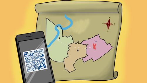 Ab Pfingsten in unserer Gemeinde – digitale Schnitzeljagd quer durch unser Gemeindegebiet