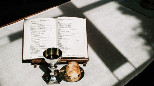 Pentecost Holy Communion service using the Book of Common Prayer