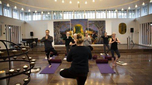 Vær med til denne uges yoga