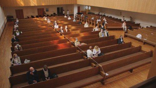 Pfingstsonntag: Unser erster Gottesdienst in der Matthäikirche