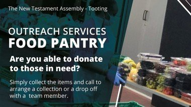 Missions Outreach Services -Food Pantry
