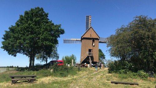 Gottesdienst an der Borner Mühle am Pfingstmontag