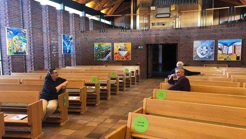 17 verdensmål udstilling i Hundige Kirke