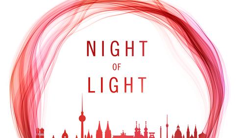 Night of Light - wir sehen rot.