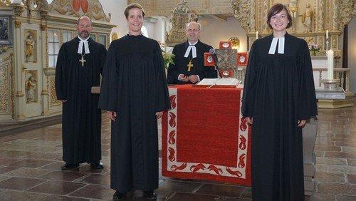 Ausbildung beendet: Neue Pastorinnen in Dithmarschen