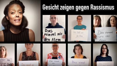 Gesicht zeigen gegen Rassismus
