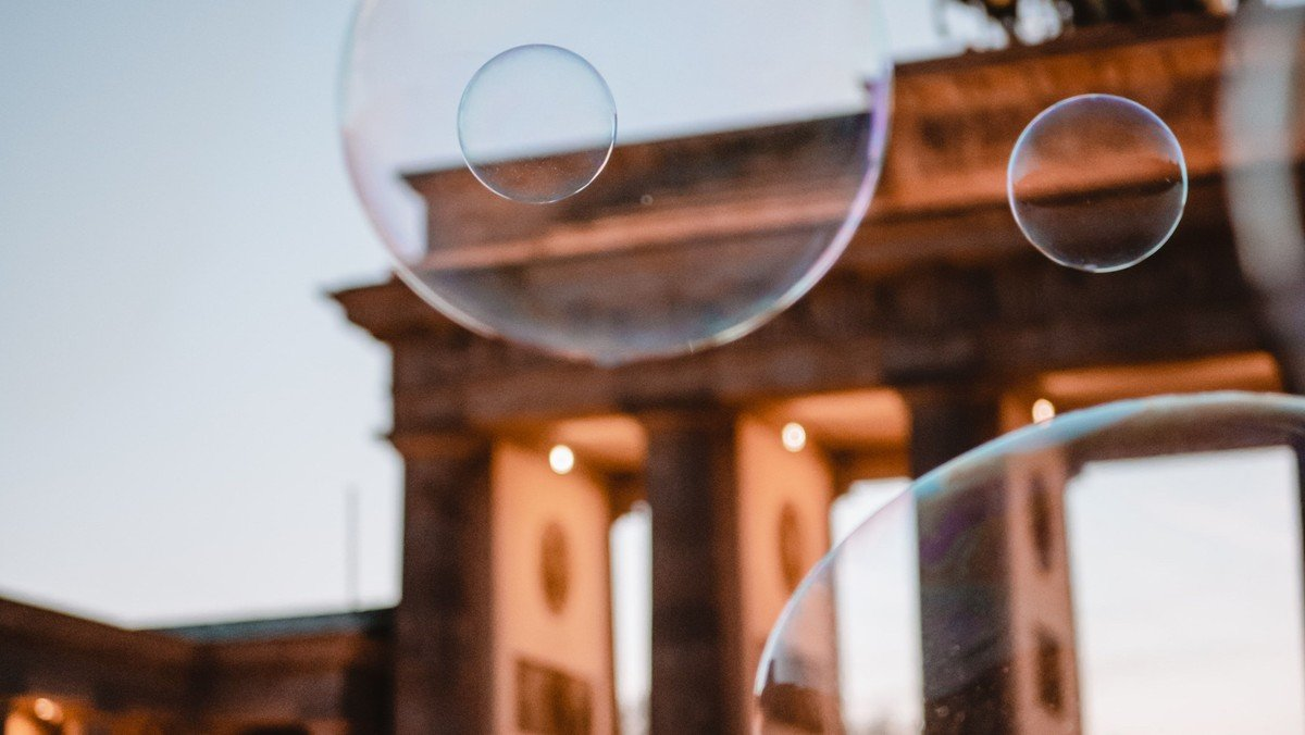 Seifenblasen kann jeder