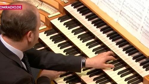 Hier zum Nachhören: Marienorganist Johannes Unger im Kölner Dom