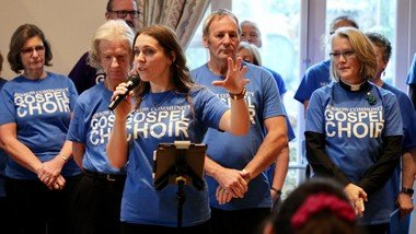 The joy of singing bringing hope to those living with Parkinson's