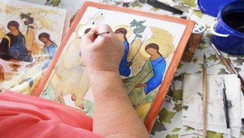 Ikonmalerene starter igen