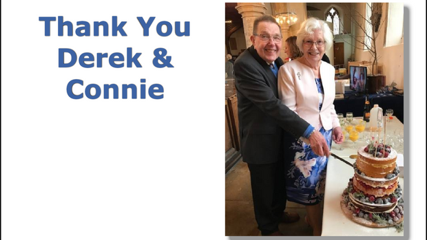 Our Wonderful Verger Steps Down after 3 Decades