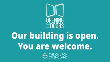 Welcoming you back into St Swithun's - ​what to expect when you come to church and guidelines for your safety