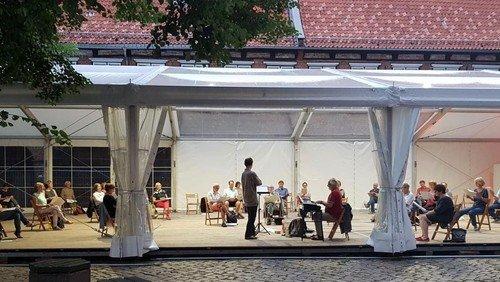 Musikalisch klingt es auf dem Marienkirchhof jeden Tag!