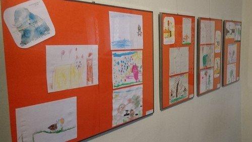 Die Schöpfung - Ausstellung der Kinder aus der Kita