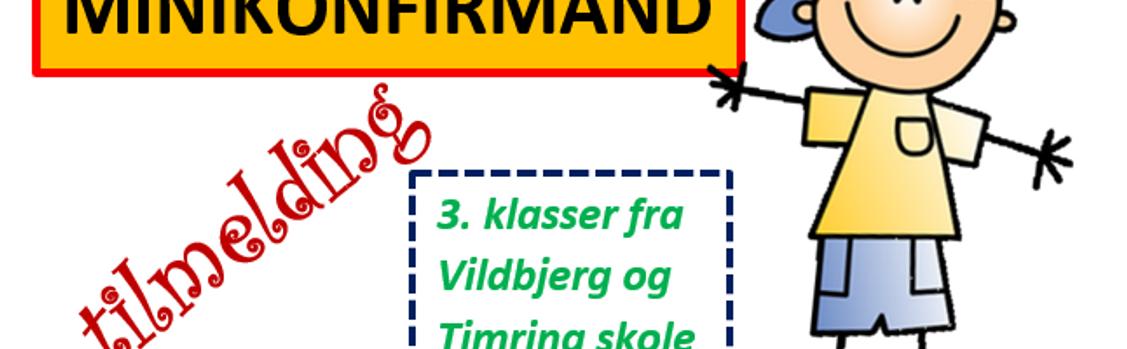 TILMELDING TIL MINIKONFIRMAND
