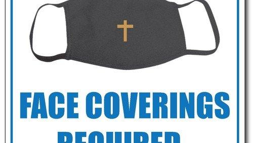 Face masks mandatory, but not for leading worship