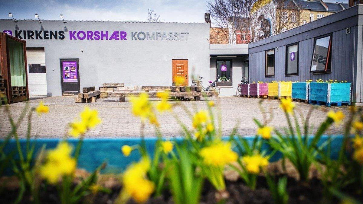 Bellahøj-Utterslev Sogn  støtter Kompasset