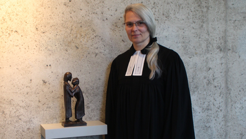 Abschied und Rückblick von Pfarrerin Karin Singha-Gnauck