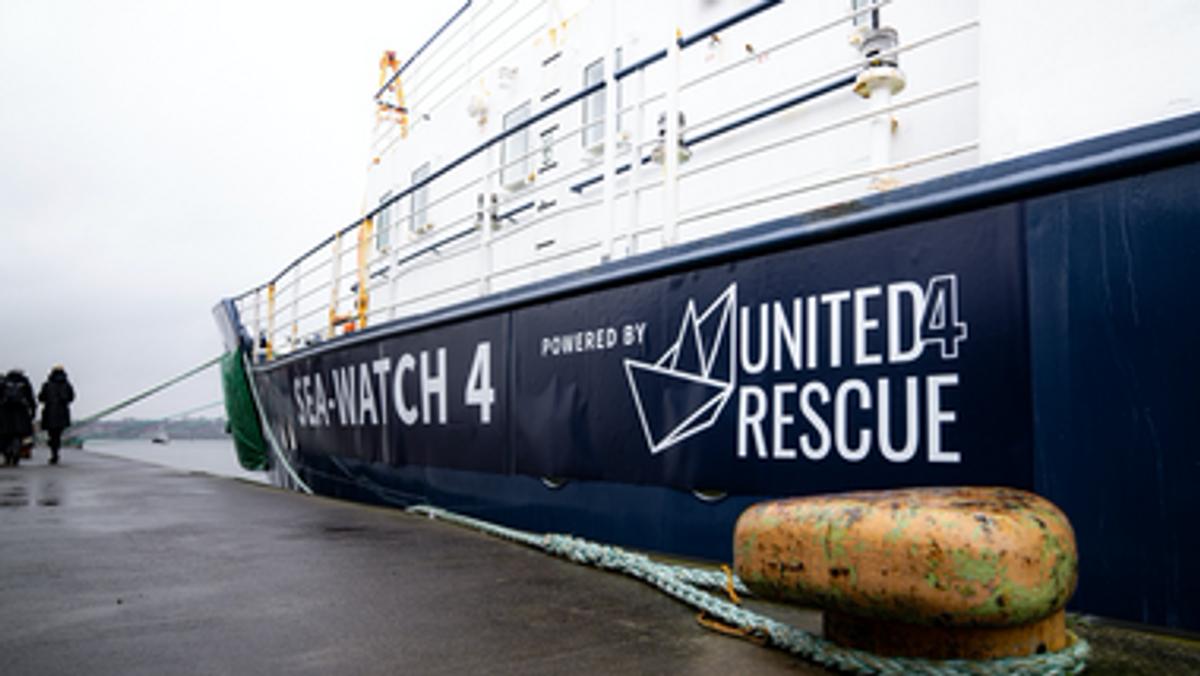 """Sea-Watch 4"""" startet zu erster Rettungsmission"""