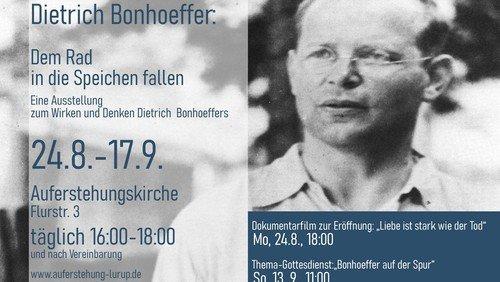 Dietrich Bonhoeffer in der Auferstehungskirche