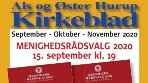 Kirkeblad Als-Øster Hurup september 2020