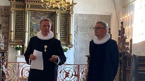 Indsættelse af Sognepræst Peter Grove i Visborg Kirke 09/08