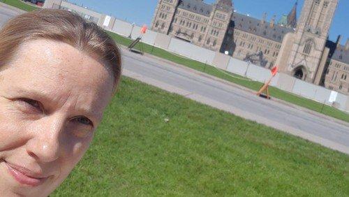 Pastor Judith in Kanada