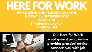 St John's launches new and improved Work Skills Programme -  Here 4 Work