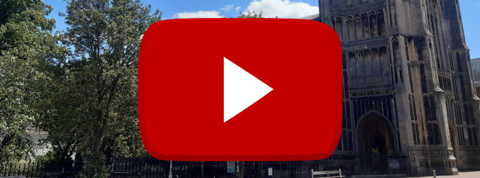 Live-streamed services on YouTube