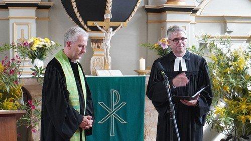 Verabschiedung von Pfarrer Götz Beyer in Welsleben