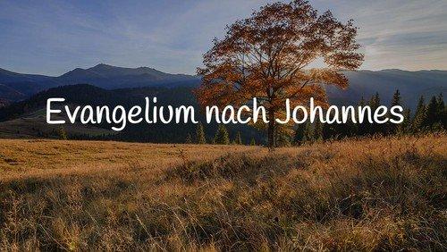 Predigten in Seewis 2020; Johannes 13-17