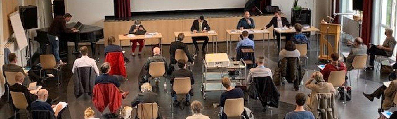 Immobilienausschuss, Umweltbeauftragter und neuer Kreiskirchenrat - Synode hat gewählt
