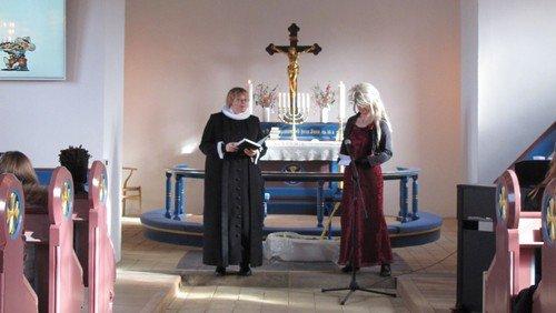 Velbesøgt fastelavnssøndag i Gludsted d. 23. februar 2020