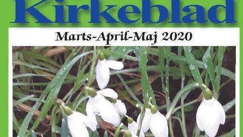 Kirkeblad Als-Øster Hurup marts 2020